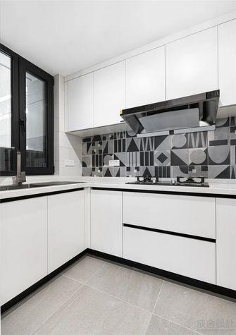110平米三现代简约风格厨房图