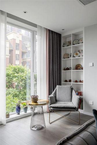 110平米三室两厅现代简约风格阳台欣赏图