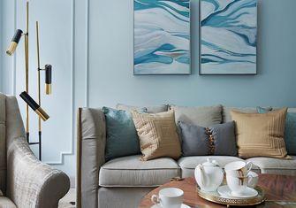 110平米三美式风格客厅设计图