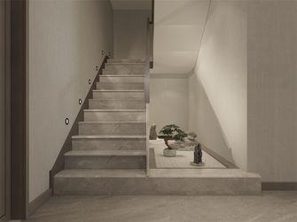 140平米复式中式风格楼梯间图