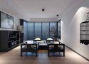140平米三室三厅中式风格客厅图