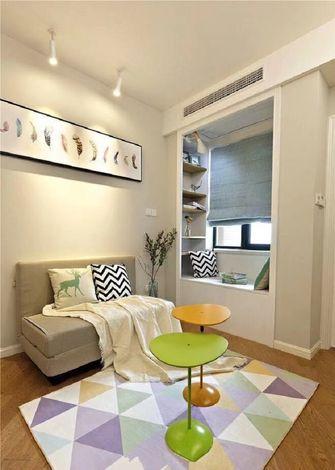 60平米一室一厅现代简约风格客厅装修图片大全