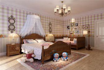 140平米三室两厅欧式风格卧室装修效果图