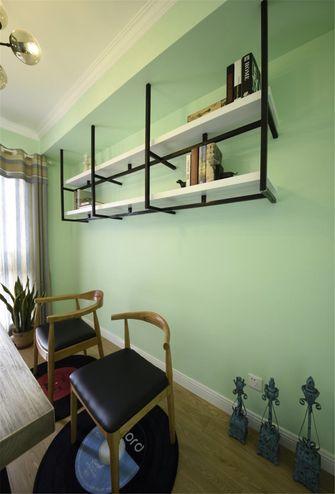 100平米三室两厅地中海风格书房图片大全