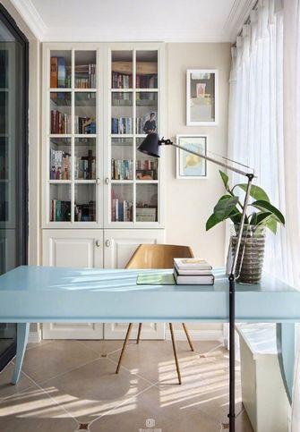 80平米田园风格书房装修案例