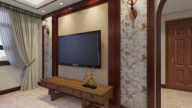 70平米东南亚风格客厅设计图