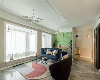 140平米四室一厅北欧风格客厅装修图片大全