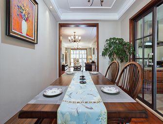 120平米复式美式风格餐厅欣赏图