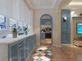 120平米三室两厅地中海风格玄关设计图