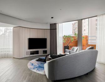 140平米复式现代简约风格客厅装修案例