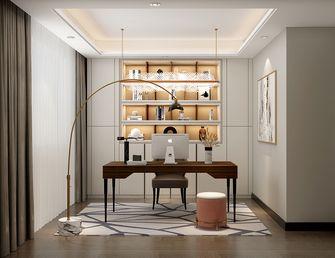 130平米四室一厅法式风格书房欣赏图