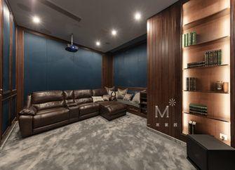140平米别墅英伦风格影音室设计图