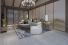 140平米四室两厅田园风格客厅图片