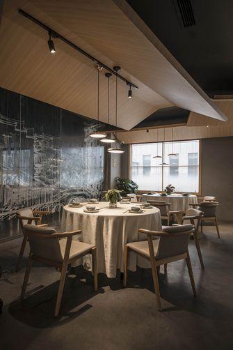 140平米一居室日式风格餐厅图片