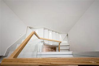 140平米复式日式风格楼梯间效果图