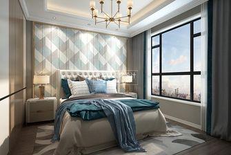120平米四室两厅美式风格卧室欣赏图