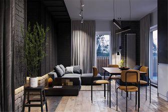 50平米公寓东南亚风格客厅图片大全