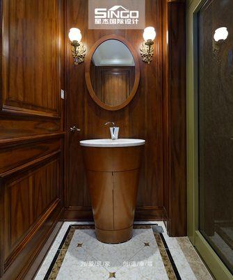 20万以上140平米别墅美式风格楼梯效果图