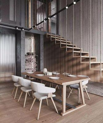 140平米中式风格餐厅设计图