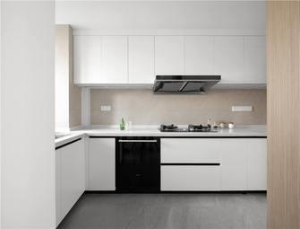 10-15万130平米三室一厅现代简约风格厨房设计图