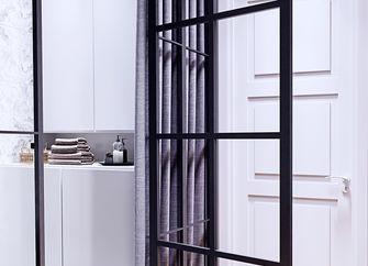 90平米公寓法式风格走廊欣赏图