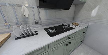 50平米一居室欧式风格厨房设计图