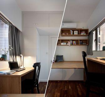 120平米欧式风格书房图片大全
