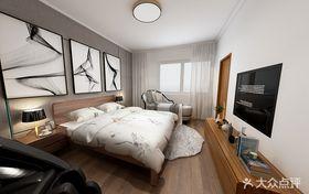 110平米中式風格臥室裝修案例