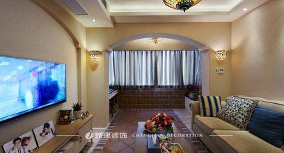 70平米地中海风格客厅图片
