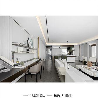 豪华型90平米三现代简约风格客厅欣赏图