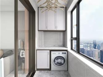 130平米三室三厅现代简约风格阳台设计图