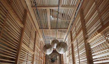 140平米别墅日式风格楼梯间装修效果图