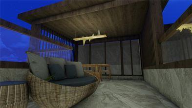 100平米别墅中式风格阳光房欣赏图