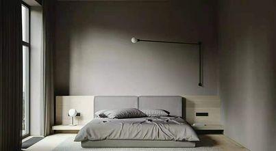 80平米一居室现代简约风格卧室设计图