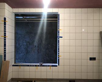 120平米三室一厅英伦风格厨房欣赏图
