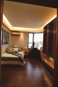 120平米三室一厅东南亚风格卧室设计图