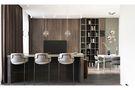 120平米三室五厅现代简约风格餐厅装修案例