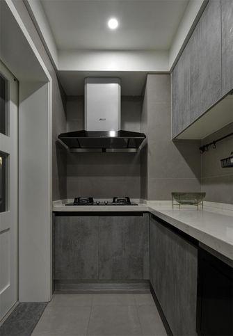 50平米公寓现代简约风格厨房图片大全