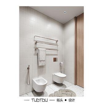 豪华型80平米一居室日式风格卫生间图片大全