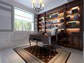 130平米四室两厅法式风格书房装修案例