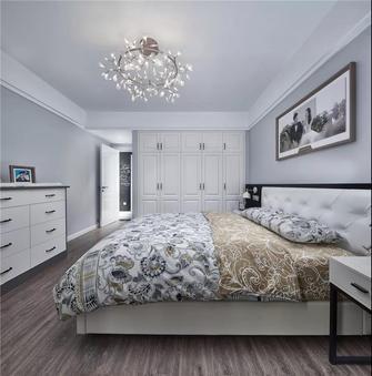 90平米混搭风格卧室图