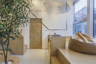 130平米日式风格楼梯间装修案例