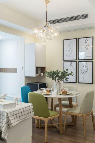 80平米一室两厅混搭风格餐厅图片大全