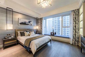 140平米三室三厅英伦风格卧室设计图