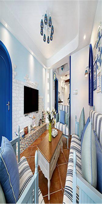 90平米四地中海风格客厅装修效果图