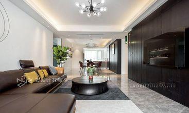 130平米三室两厅现代简约风格客厅设计图