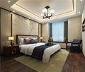 100平米三室两厅中式风格卧室效果图