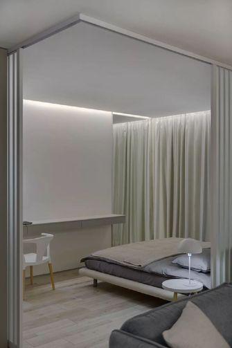 50平米公寓现代简约风格卧室图