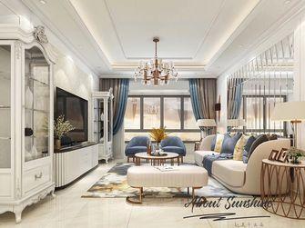 富裕型90平米欧式风格客厅图片