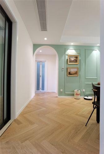 80平米三室两厅混搭风格客厅欣赏图